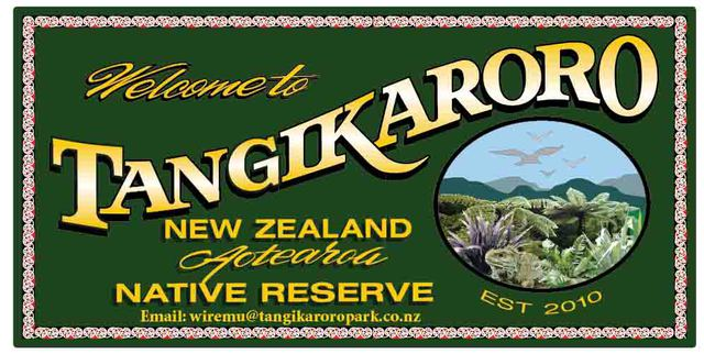 Tangikaroro Nature Park New Zealand